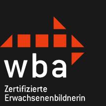 WBA-zertifizierte Erwachsenenbildnerin