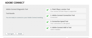 Adobe Connect Test