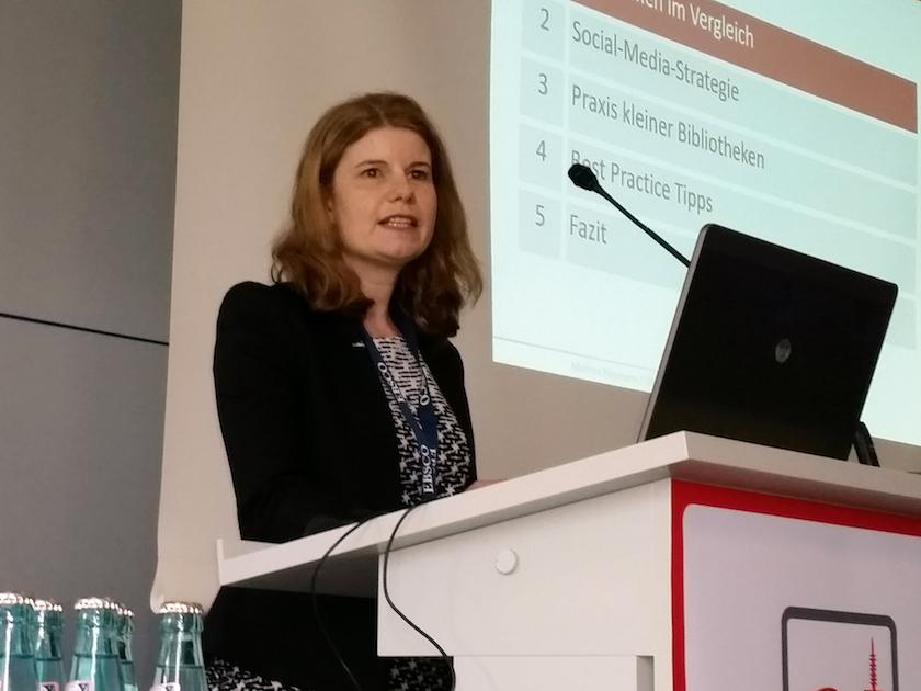 Vortragende Marlene Neumann