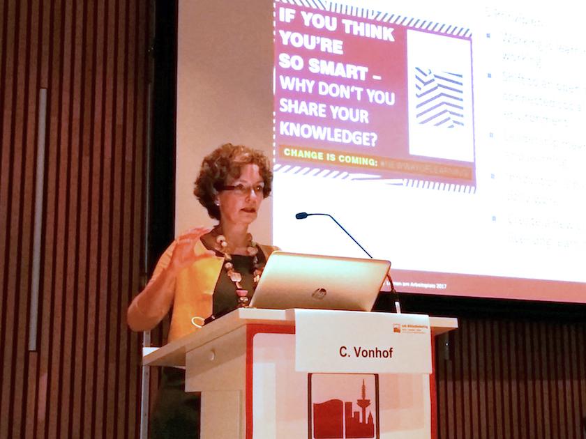 Vortrag Cornelia Vonhof