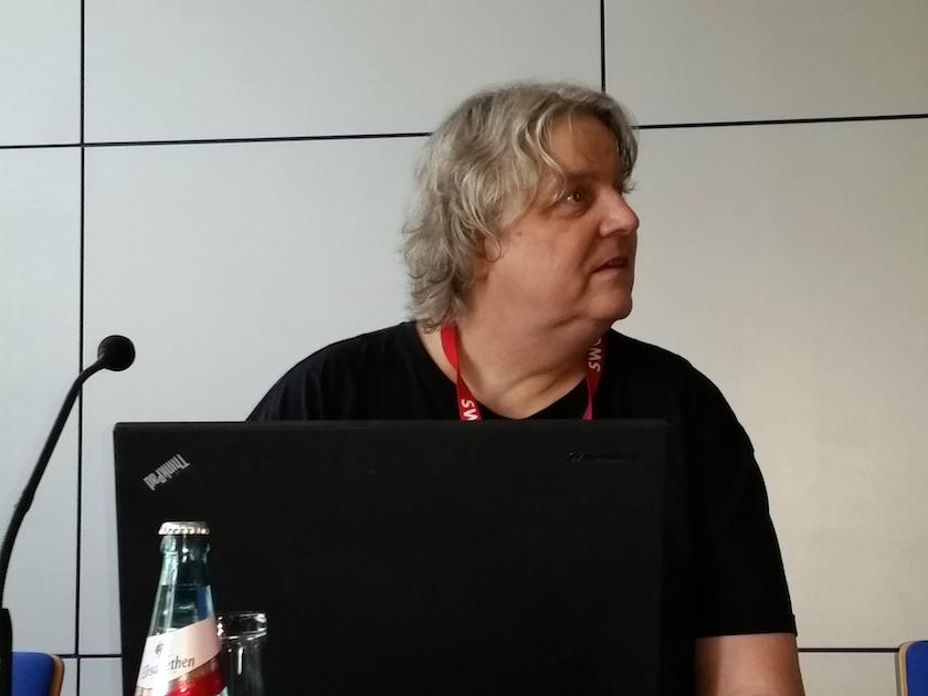 Moderator Dr. Jürgen Plieninger