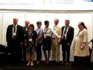 Gruppenbild – Vorstellung Kooperationsvereinbarung zwischen den Ländern zur Fortbildung