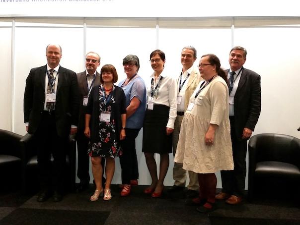 Grupenbild – Vorstellung Kooperationsvereinbarung zwischen den Ländern zur Fortbildung