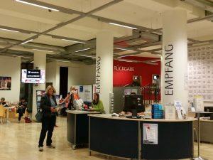 Empfang der Zentralbibliothek Bremen