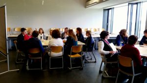 World-Café-Workshop mit Petra Strunk