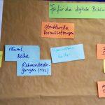 Ergebnistafel des World-Café-Workshops von Antonie Muschalek