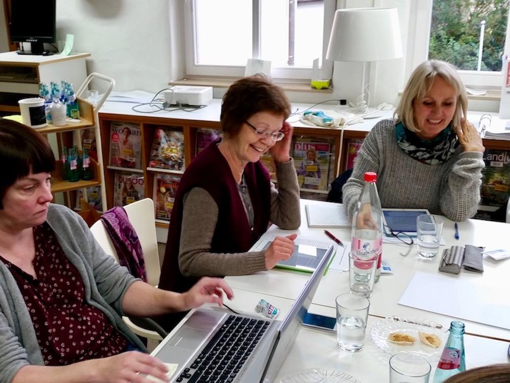 """Fortbildung """"Pressearbeit"""" im Medientreff (Gemeindebücherei) Rodenbach"""
