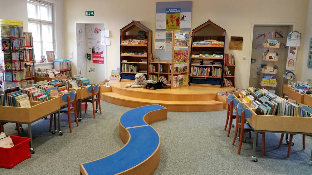 Kinderbereich der Stadtbibliothek Donauwörth