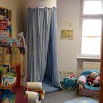 Zelt zum Rückzug, Kinderbereich der Stadtbibliothek Donauwörth
