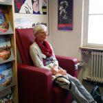 Massagesessel in der Stadtbibliothek Donauwörth