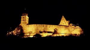Veste Coburg bei Nacht