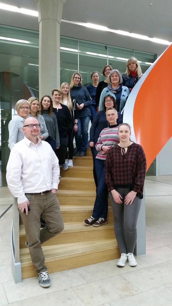 Team der Stadtbibliothek Nordhorn