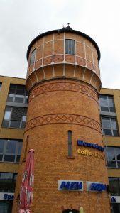Wasserturm am Hauptbahnhof Potsdam