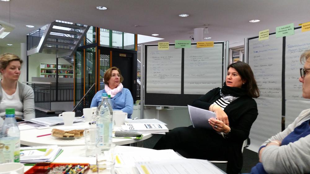Diskussion im Workshop Zukunftswerkstatt Höchberg