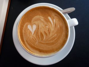 Kaffeetasse mi Herz