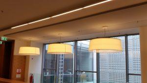 Kurzer Blick in die neu renovierte Cité Bibliothèque Luxemburg