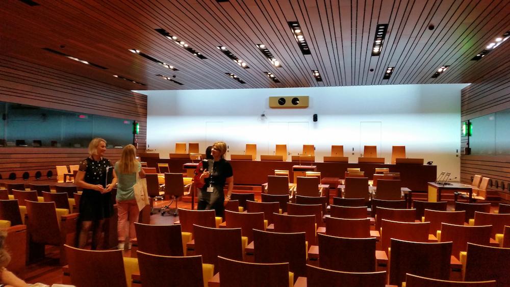 Kleiner Sitzungssaal des EuGH