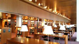 Lesesaal, Bibliothek des Europäischen Gerichtshofs in Luxemburg