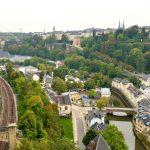 Auf dem Weg zum Europa-Viertel in Luxemburg