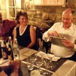 """Geschenk an Jean-Marie im Restaurant """"Um Dierfgen"""""""