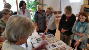 Teilnehmende in Rostock, Fortbildung zum Thema Jahresbericht