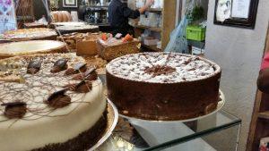 Glutenfreie Kuchenauswahl im Chocolate-House