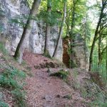 Wanderpfad im Mullerthal, Luxemburg