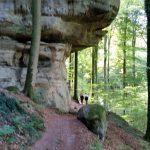 Felsformation im Mullerthal, Luxemburg