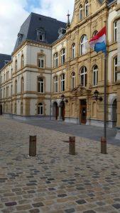 Der Großherzogliche Palast, Stadtführung Luxemburg