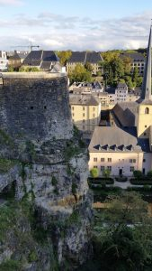 Bockfelsen, Stadtführung Luxemburg