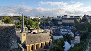 Unterstadt mit Klosterabtei Neumünster, Stadtführung Luxemburg