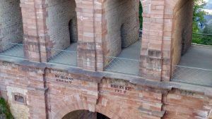 Schlossbrücke als Verbindung zwischen Oberstadt und Bockfelsen, Stadtführung Luxemburg