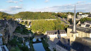 Clausenviadukt, Stadtführung Luxemburg