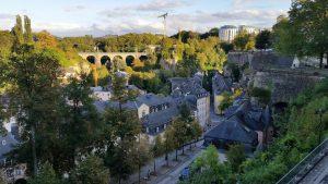 Unterstadt mit Adolphebrücke, Stadtführung Luxemburg