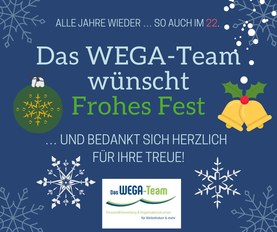 Frohes Fest 2018 vom WEGA-Team