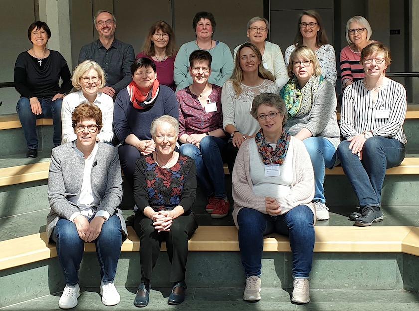 Gruppenfoto Tagung Lobbyarbeit St. Michaelsbund/Borromäusverein in Fulda