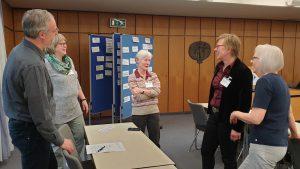 Teilnehmende am Seminar zur Lobbyarbeit