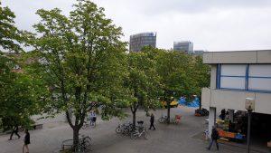 Bockenheimer Warte, Neue Mensa, UB Frankfurt a. M.