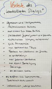 """Vorteile des """"Kontrollierten Dialogs"""""""