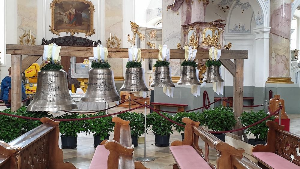 Neue Glocken für Vierzehnheiligen bei Bad Staffelstein