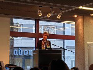 Begrüßung durch die Oberbürgermeisterin der Stadt Köln, Henriette Rieker