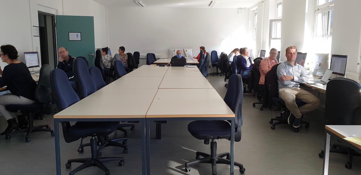 Seminarraum an der FHP